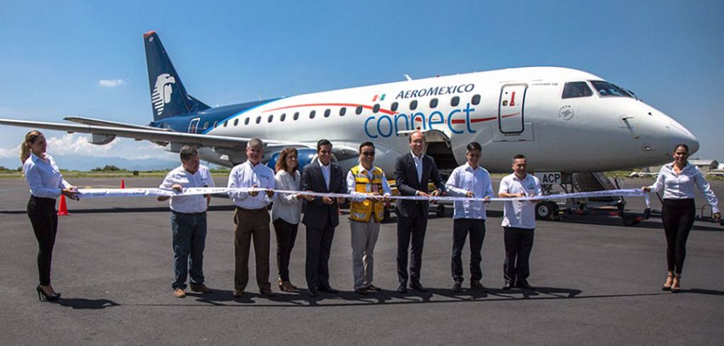 Más de 40 vuelos de Aeroméxico fueron cancelados por paro de pilotos