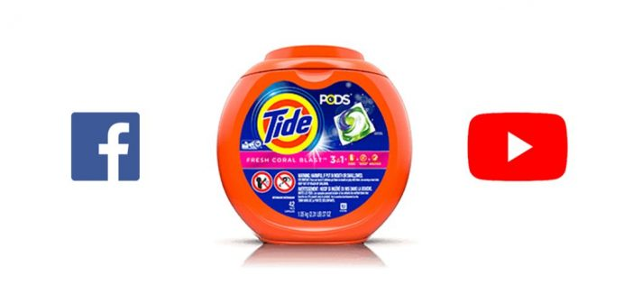 "Youtube y Facebook están removiendo los videos del ""reto Tide POD"""